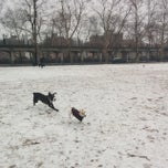 Photo taken at Rockaway Park Dog Run by Matt G. on 12/14/2013