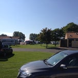 Photo taken at Scarborough Camping and Caravanning Club by Adam C. on 7/26/2014