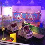 Photo taken at Toy Story Midway Mania by Shane H. on 4/15/2013
