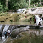 Photo taken at Air Terjun Moramo - Kawasan Suaka Alam Tanjung Peropa by Ekajati W. on 4/7/2013
