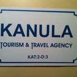 Photo taken at Kanula Tourism & Travel Acency by Ecece H. on 10/13/2012