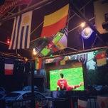 Photo taken at Carniceria Latinoamericana / Don Carlos Restaurant by Allan C. on 6/23/2014