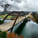 Photo taken at 360 Bridge (Pennybacker Bridge) by Barron F. on 12/1/2012