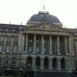 Photo taken at Koninklijk Paleis / Palais Royal by Juan P. on 3/7/2013