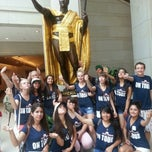 Photo taken at King Kamehameha Statue by Chad M. on 6/17/2013