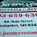 Photo taken at Jeremy's Pizzeria & Deli by Greg W. on 6/3/2013