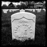 Photo taken at Hampton National Cemetery by David S. on 3/2/2013