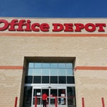 Photo taken at Office Depot by Charles G. on 9/1/2013