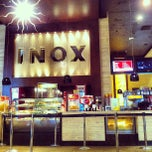 Photo taken at INOX Movies by Kalidas C. on 3/5/2013