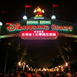 Photo taken at Hong Kong Disneyland 香港迪士尼樂園 by Cy on 4/21/2013