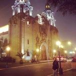 Photo taken at Parque Kennedy by Nico Jofré on 4/28/2013