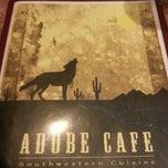 Photo taken at Adobe Cafe by Vill on 12/16/2012