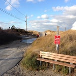 Photo taken at Sea Street Beach by Hilary B. on 12/7/2013