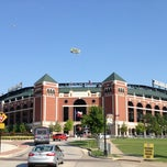 Photo taken at Rangers Ballpark in Arlington by Luis Z. on 8/16/2013