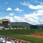 Photo taken at Medlar Field at Lubrano Park by Donna B. on 7/4/2013