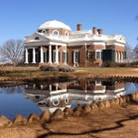 Photo taken at Monticello by Leigh M. on 2/24/2013