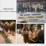 Photo taken at SMPN 1 Denpasar by kak N. on 2/7/2015