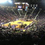 Photo taken at Bramlage Coliseum by Raubin P. on 1/31/2013