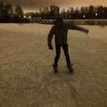 Photo taken at Каток by Lisa M. on 1/25/2014