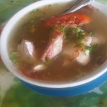 Photo taken at Sop Ikan Aulia by dian a. on 10/6/2014