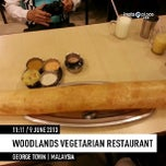 Photo taken at Woodlands Vegetarian Restaurant by Andy Y. on 6/9/2013