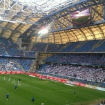 Photo taken at INEA Stadion by Łukasz G. on 5/4/2013
