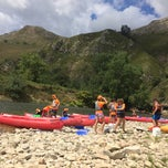 Photo taken at Río Sella by Gustavo S. on 8/13/2014