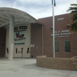 Photo taken at Del Webb Middle School by Brett O. on 5/21/2013