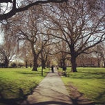Photo taken at London Fields by Peter M. on 4/28/2013