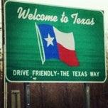 Photo taken at Louisiana / Texas State Line by Amanda C. on 11/24/2012