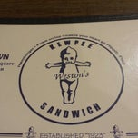 Photo taken at Weston's Kewpee Sandwich by Aaron O. on 9/9/2013