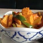 Photo taken at Krua Thai Cafe by Tonia E. on 5/8/2014