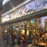 Photo taken at Shake Shack by Kristina on 11/18/2012