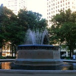 Photo taken at Grand Circus Park by Brian M. on 6/20/2013