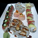 Photo taken at Fusion Fire Asian Fondue & Sushi Bar by Jacqueline S. on 12/15/2012