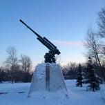 Photo taken at Памятник 347 Зенитно-артилейскому Полку by Андрей Г. on 3/2/2013