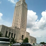 Photo taken at Louisiana State Capitol by Christian H. on 7/11/2013