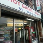 Photo taken at Hot Bagel - Church Ave by Mr. E. on 12/10/2012