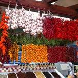 Photo taken at Mercado dos Lavradores by Kristina S. on 8/28/2013