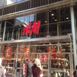 Photo taken at H&M by Stephanie P. on 12/6/2012