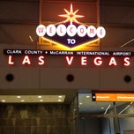 Photo taken at McCarran International Airport (LAS) by mindy c. on 7/25/2013