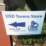 Photo taken at USD Torero Store by Patrick B. on 9/15/2012