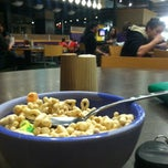 Photo taken at Courtyard Dining Hall by Abigail M. on 3/22/2014