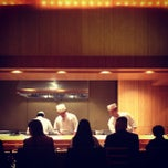 Photo taken at Sushi Yasuda by Jiabei C. on 10/17/2012