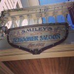 Photo taken at Smileys Schooner Saloon and Hotel by Channing W. on 6/17/2013