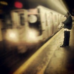 Photo taken at MTA Subway - East Broadway (F) by Richard Alexander C. on 10/11/2012
