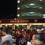 Photo taken at Kyle Field Zone Plaza by Robin J. on 9/14/2013