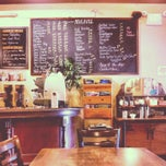 Photo taken at Phoscao Cafe by Crystal W. on 9/28/2012