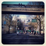 Photo taken at Neuberger Hall (PSU) by Dan O. on 3/17/2013