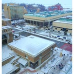 Photo taken at East Campus Mall by Rudy O. on 1/23/2013